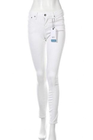 Дамски панталон Henry I. Siegel, Размер M, Цвят Бял, 55% памук, 21% полиестер, 14% лиосел, 9% вискоза, 1% еластан, Цена 25,18лв.
