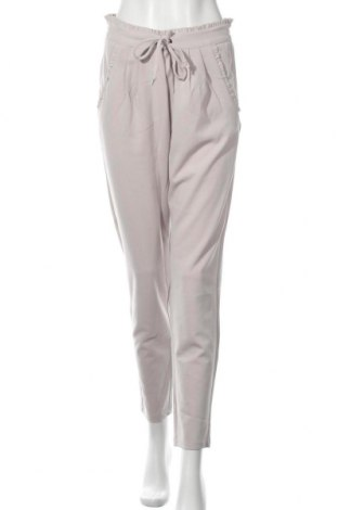 Дамски панталон Jacqueline De Yong, Размер M, Цвят Бежов, 95% полиестер, 5% еластан, Цена 21,24лв.