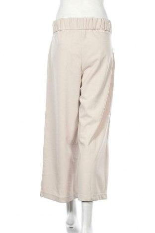 Дамски панталон Jacqueline De Yong, Размер L, Цвят Бежов, 95% полиестер, 5% еластан, Цена 15,91лв.