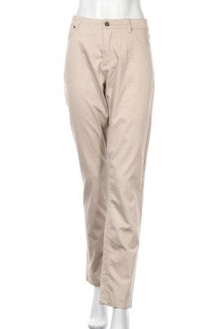 Dámské kalhoty  Jensen, Velikost L, Barva Béžová, 65% bavlna, 32% polyester, 3% elastan, Cena  424,00Kč