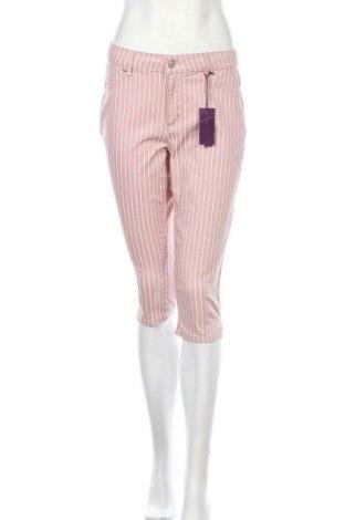 Дамски панталон Lascana, Размер M, Цвят Розов, 66% памук, 31% полиестер, 3% еластан, Цена 18,00лв.