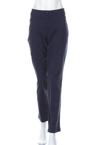 Dámské kalhoty  Laura Torelli, Velikost XL, Barva Modrá, 69% viskóza, 28% polyamide, 3% elastan, Cena  349,00Kč