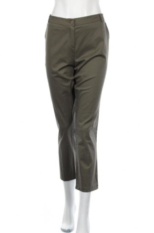 Дамски панталон Lola & Liza, Размер XL, Цвят Зелен, 97% памук, 3% еластан, Цена 14,27лв.
