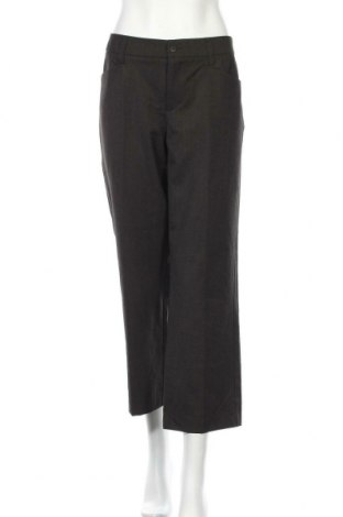 Дамски панталон Mac, Размер M, Цвят Кафяв, 63% полиестер, 33% вискоза, 4% еластан, Цена 3,61лв.