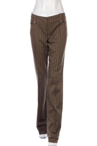 Дамски панталон Max&Co., Размер L, Цвят Кафяв, 62% полиестер, 35% вискоза, 3% еластан, Цена 52,20лв.