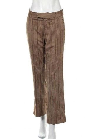 Дамски панталон Mexx, Размер M, Цвят Кафяв, 67% полиестер, 32% вискоза, 1% еластан, Цена 12,83лв.