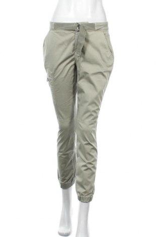 Дамски панталон Monari, Размер S, Цвят Зелен, 98% памук, 2% еластан, Цена 45,77лв.