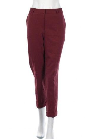 Dámské kalhoty  Ms Mode, Velikost XXL, Barva Červená, 89% polyester, 11% elastan, Cena  333,00Kč