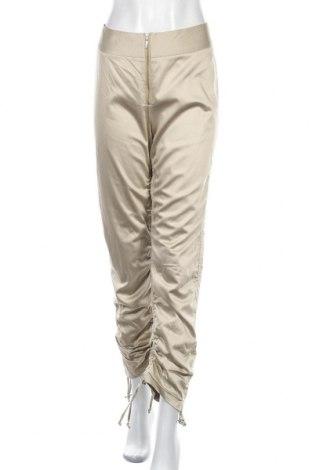 Дамски панталон Nicowa, Размер M, Цвят Бежов, 55% вискоза, 42% памук, 3% еластан, Цена 12,56лв.