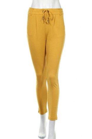 Dámské kalhoty  ONLY, Velikost S, Barva Žlutá, 63% viskóza, 32% polyamide, 5% elastan, Cena  545,00Kč