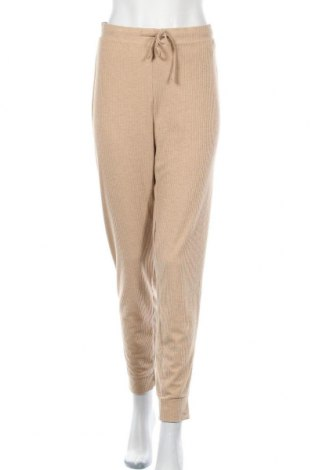 Дамски панталон ONLY, Размер M, Цвят Бежов, 63% полиестер, 30% вискоза, 7% еластан, Цена 14,75лв.