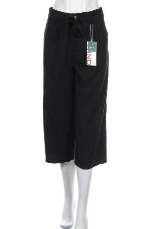 Дамски панталон ONLY, Размер S, Цвят Черен, 93% вискоза, 7% полиестер, Цена 19,07лв.