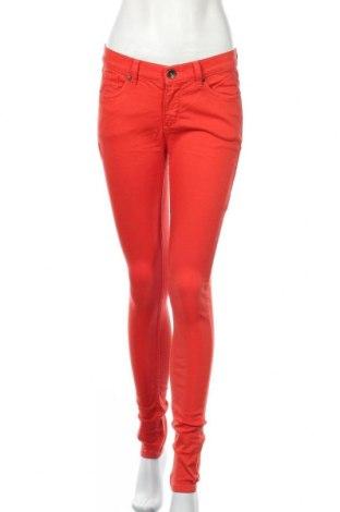 Дамски панталон Oasis, Размер M, Цвят Червен, 97% памук, 3% еластан, Цена 10,92лв.