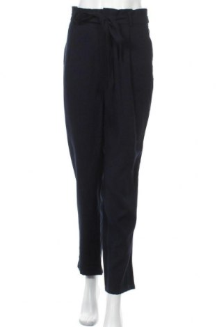 Дамски панталон Object, Размер L, Цвят Син, 92% вискоза, 8% полиестер, Цена 19,07лв.