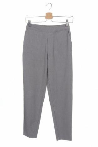 Дамски панталон Object, Размер XS, Цвят Сив, 62% полиестер, 33% вискоза, 5% еластан, Цена 16,38лв.
