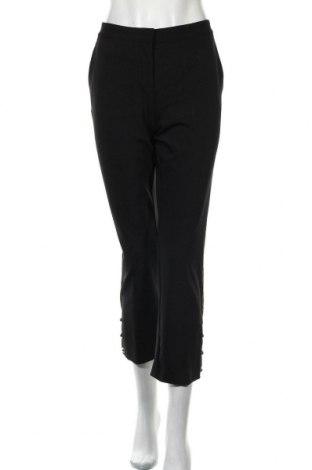 Дамски панталон Pinko, Размер M, Цвят Черен, 86% полиамид, 14% еластан, Цена 48,75лв.