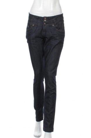Dámské kalhoty  S.Oliver, Velikost M, Barva Modrá, 65% bavlna, 35% polyester, Cena  469,00Kč