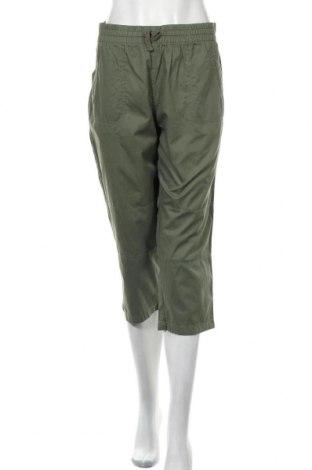 Γυναικείο παντελόνι Suzanne Grae, Μέγεθος L, Χρώμα Πράσινο, Βαμβάκι, Τιμή 30,91€