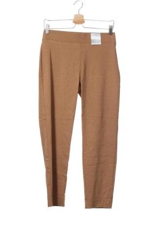 Дамски панталон Suzanne Grae, Размер XS, Цвят Кафяв, 76% вискоза, 20% полиамид, 4% еластан, Цена 8,66лв.