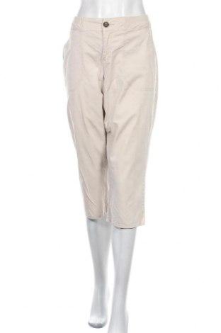 Дамски панталон Target, Размер M, Цвят Бежов, Памук, еластан, Цена 5,65лв.