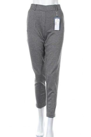 Γυναικείο παντελόνι Tom Tailor, Μέγεθος M, Χρώμα Γκρί, 74% πολυεστέρας, 23% βισκόζη, 3% ελαστάνη, Τιμή 28,22€