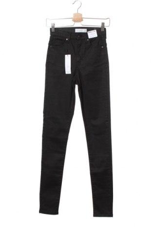 Дамски панталон Topshop, Размер S, Цвят Черен, 86% памук, 11% полиестер, 3% еластан, Цена 21,12лв.