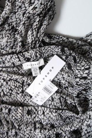 Дамски панталон Topshop, Размер M, Цвят Сив, Полиестер, Цена 9,66лв.