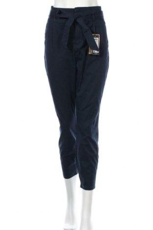 Дамски панталон Vero Moda, Размер L, Цвят Син, 98% памук, 2% еластан, Цена 20,36лв.
