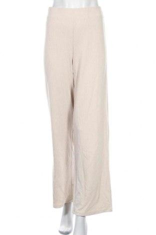 Дамски панталон Vero Moda, Размер L, Цвят Бежов, 95% полиестер, 5% еластан, Цена 20,32лв.