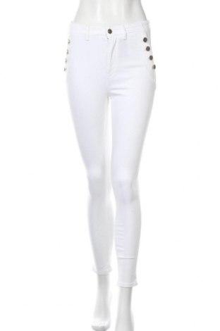 Дамски панталон Vivance, Размер S, Цвят Бял, 97% памук, 3% еластан, Цена 18,15лв.