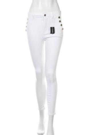 Дамски панталон Vivance, Размер M, Цвят Бял, 97% памук, 3% еластан, Цена 18,15лв.