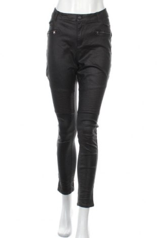 Дамски панталон Vrs Woman, Размер XXL, Цвят Черен, 82% вискоза, 15% полиамид, 3% еластан, Цена 21,42лв.