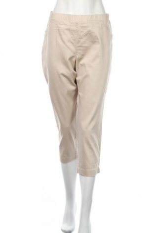 Дамски панталон W. Lane, Размер XL, Цвят Бежов, Памук, полиестер, еластан, Цена 18,74лв.
