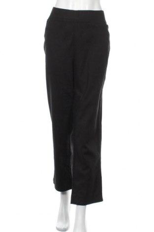 Дамски панталон W. Lane, Размер XXL, Цвят Черен, 65% памук, 31% полиамид, 4% еластан, Цена 26,93лв.