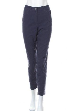Dámské kalhoty  Women by Tchibo, Velikost L, Barva Modrá, 70% viskóza, 26% polyamide, 4% elastan, Cena  409,00Kč