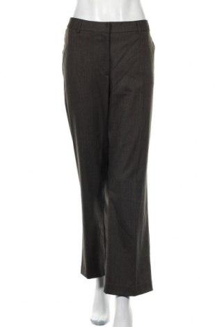 Дамски панталон Yessica, Размер XL, Цвят Кафяв, 63% полиестер, 34% вискоза, 2% еластан, 1% памук, Цена 7,25лв.