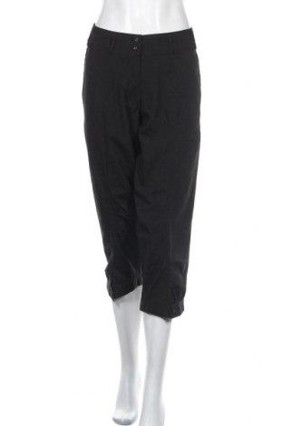 Дамски панталон Ze-Ze, Размер L, Цвят Черен, 63% полиестер, 33% вискоза, 4% еластан, Цена 4,00лв.