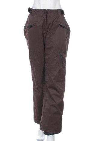Дамски панталон за зимни спортове Powerzone, Размер L, Цвят Кафяв, 100% полиамид, Цена 43,47лв.