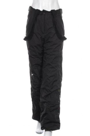 Дамски панталон за зимни спортове Wedze, Размер M, Цвят Черен, Полиамид, Цена 28,67лв.