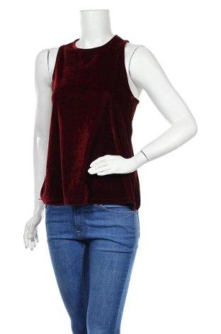 Γυναικείο αμάνικο μπλουζάκι Banana Republic, Μέγεθος XS, Χρώμα Κόκκινο, 95% πολυεστέρας, 5% ελαστάνη, Τιμή 9,10€