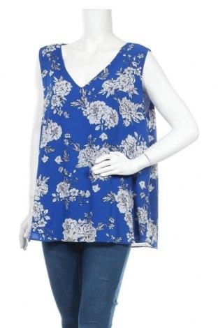Γυναικείο αμάνικο μπλουζάκι Suzanne Grae, Μέγεθος XL, Χρώμα Μπλέ, Πολυεστέρας, Τιμή 3,64€