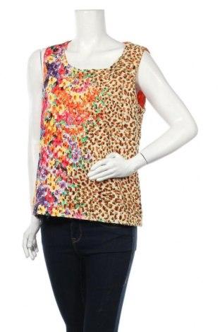 Γυναικείο αμάνικο μπλουζάκι Suzanne Grae, Μέγεθος L, Χρώμα Πορτοκαλί, Βαμβάκι, πολυεστέρας, Τιμή 4,09€