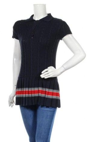 Dámský svetr, Velikost L, Barva Modrá, 50% bavlna, 50%acryl, Cena  330,00Kč
