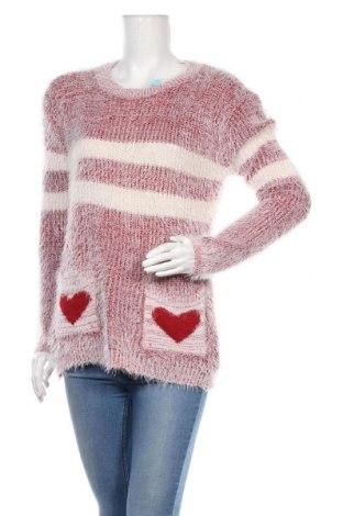 Дамски пуловер, Размер M, Цвят Бял, 65% полиестер, 35% еластан, Цена 11,49лв.