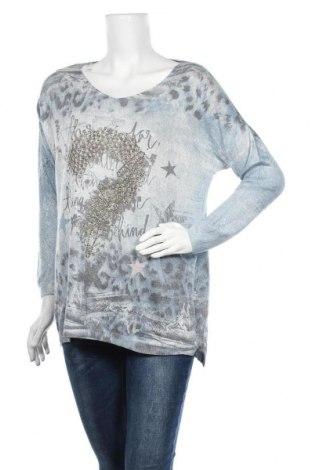 Dámský svetr, Velikost L, Barva Vícebarevné, 50% polyester, 40% viskóza, 10% polyamide, Cena  387,00Kč