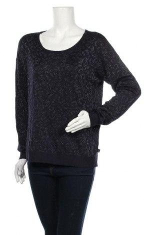 Дамски пуловер Anastacia, Размер M, Цвят Син, 86% вискоза, 9% полиестер, 5% метални нишки, Цена 19,69лв.