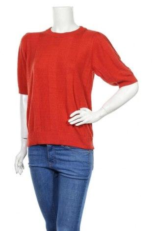 Pulover de femei Cream, Mărime M, Culoare Roșu, 60% viscoză, 40% bumbac, Preț 199,08 Lei