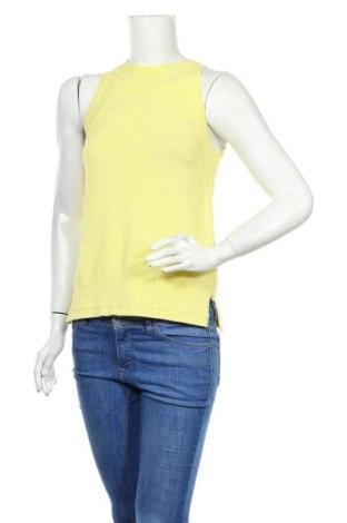 Pulover de femei Massimo Dutti, Mărime S, Culoare Galben, 78% bumbac, 22% poliamidă, Preț 175,66 Lei