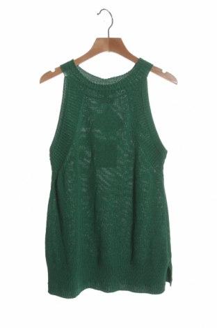 Pulover de femei Massimo Dutti, Mărime XS, Culoare Verde, 78% bumbac, 22% poliamidă, Preț 175,66 Lei