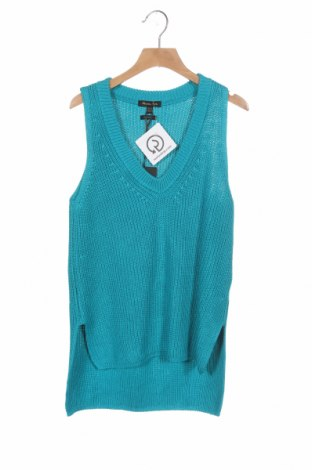 Pulover de femei Massimo Dutti, Mărime XS, Culoare Albastru, 54% bumbac, 46% viscoză, Preț 175,66 Lei